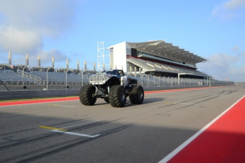 Video: Raminator Monster Truck Sets Speed Record