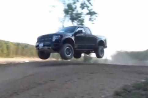 Video: Ford Raptor Versus Motocross Tabletop
