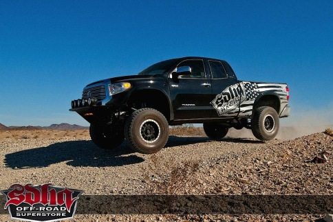 Video: When This Tundra Meets The Desert, All Bets Are Off