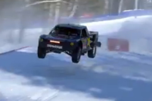 Video: Red Bull Frozen Rush Off-Road Snow Race Live!