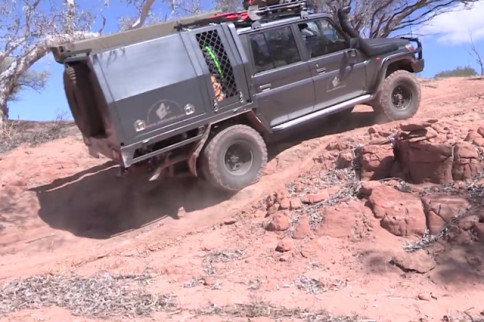 Video: Diesel-Powered Fun At The Murchison Off-Road Adventure Park