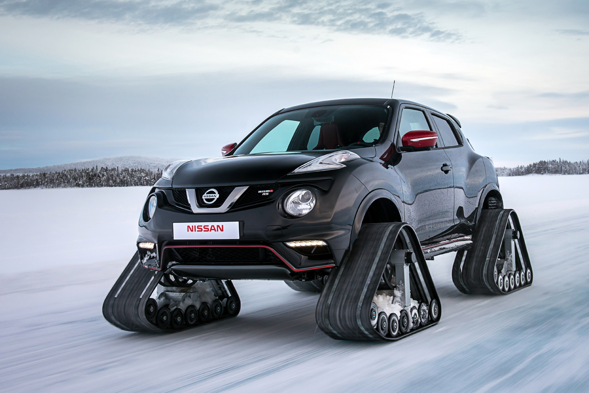 Video: New Tracked Vehicle From Nissan - Nismo, 1; Winter, 0