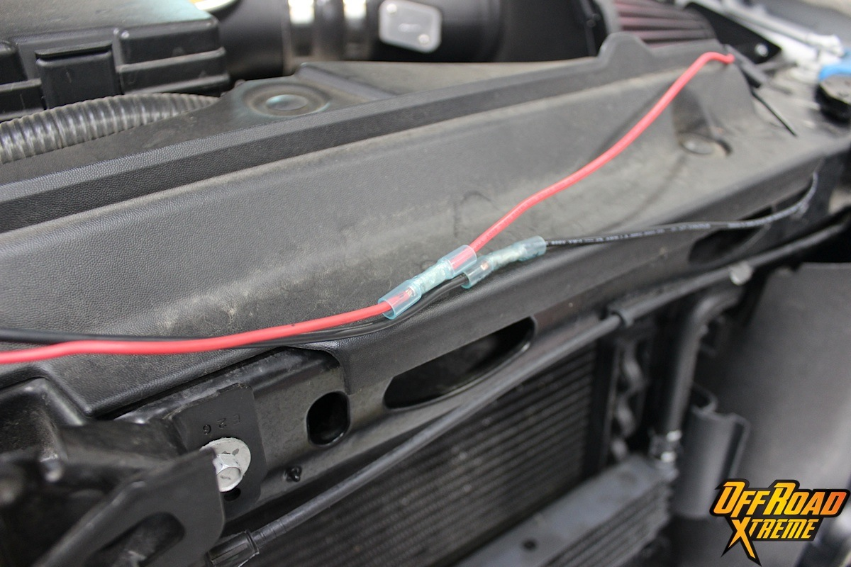Rigid Industries Light Bar Install On Our 2013 F150 Project Truck Wiring Off Road Led Lights A Jeep Together With How To Wire Depending Your Application The Included Battery Wires May Not Be Long Enough Reach Cars Center