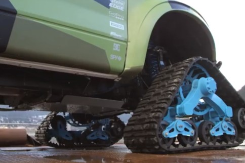 Video: Ken Block And His RaptorTRAX Build