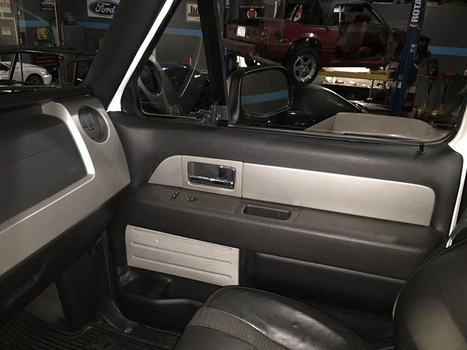 From The Complete Dash To The Flow Thru Center Console, This Raptor Bronco  Has The Complete Interior Out Of The Raptor U2013 Even The Comfy Black Leather  Seats!