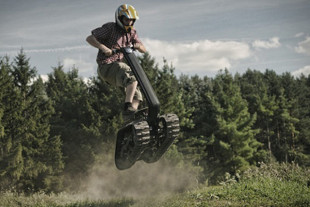 Video: Part Tank, Part Segway, All Shredder!