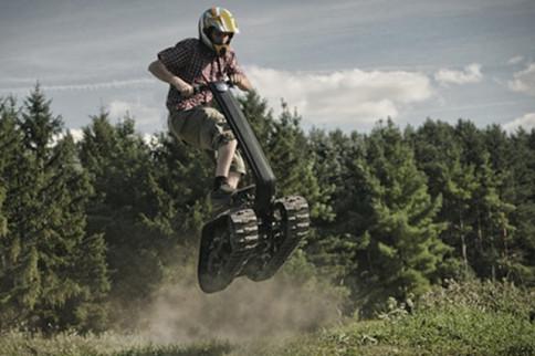 Video: Part Tank, Part Segway, All Shredder!