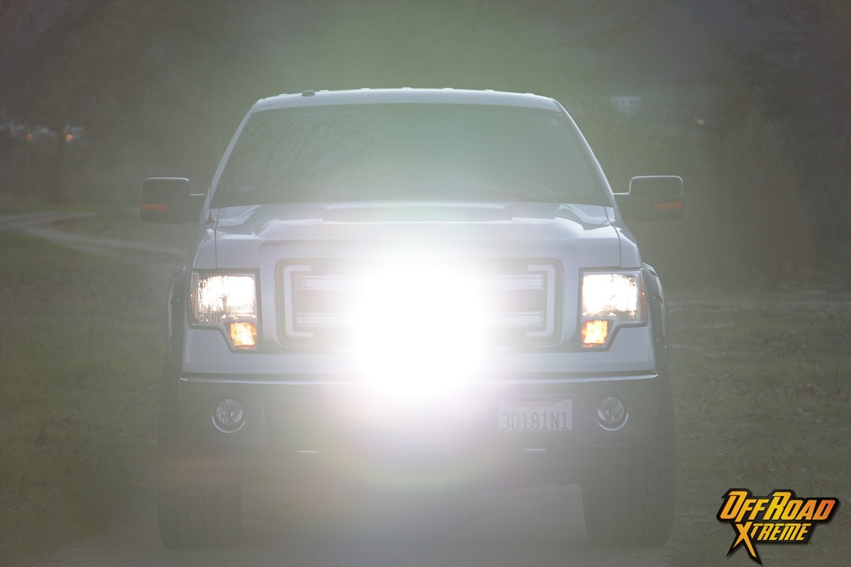 Rigid Industries Light Bar Install On Our 2013 F150 Project Truck Lights Wiring Diagram Considering The Rewards Yielded From Such A Simple Installation This 10 Inch Is Must Have For Any Off Roader That Ventures Out