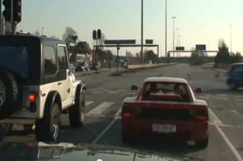 Video: Jeep Versus Ferrari Drag Race With Surprise Ending