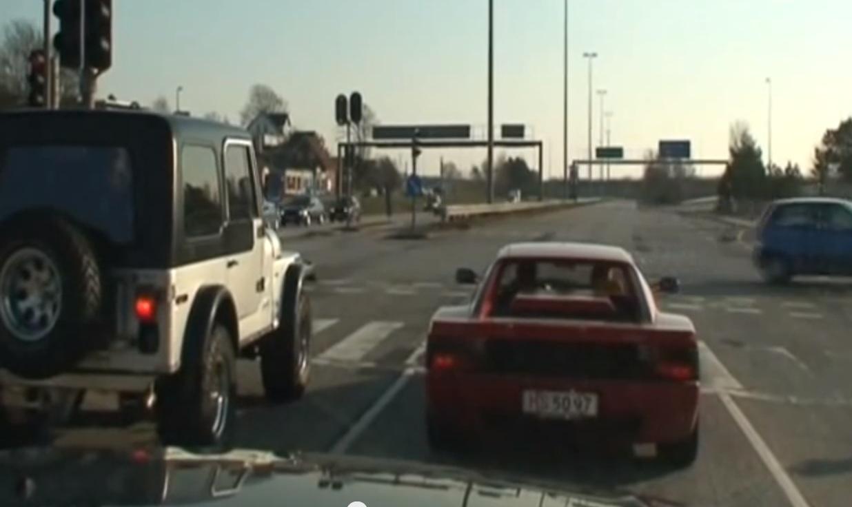 Video: Jeep Versus Ferrari Drag Race With Surprise Ending