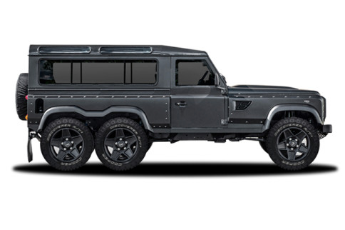 What Would You Do With A 6x6 LS3-Powered Land Rover?