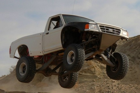 Video: Frankenstein Ford Ranger with Lexus V8 and Mustang Blower