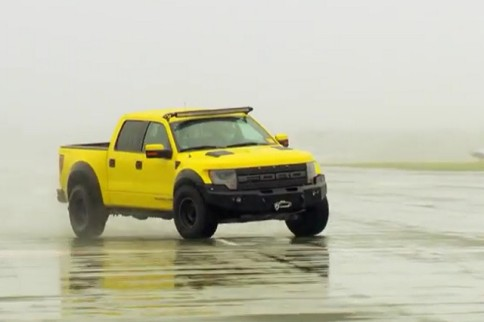 Video: The Stig Vs. Hennessey VelociRaptor 650 Crew Cab