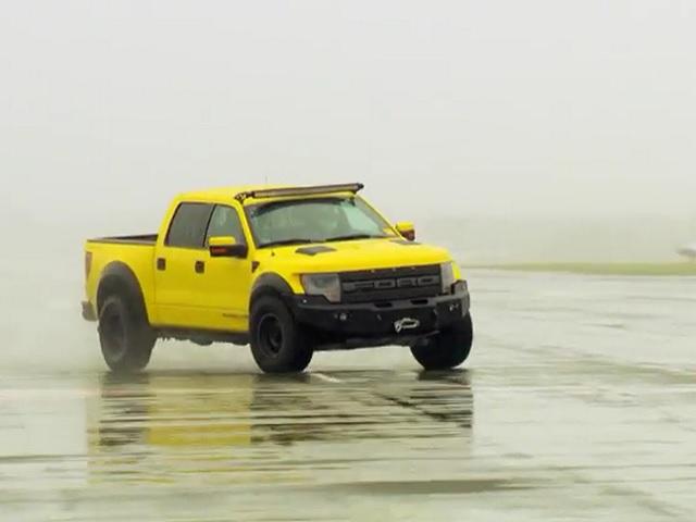 Video: The Stig Vs. Hennessey VelociRaptor 650 Crew Cab
