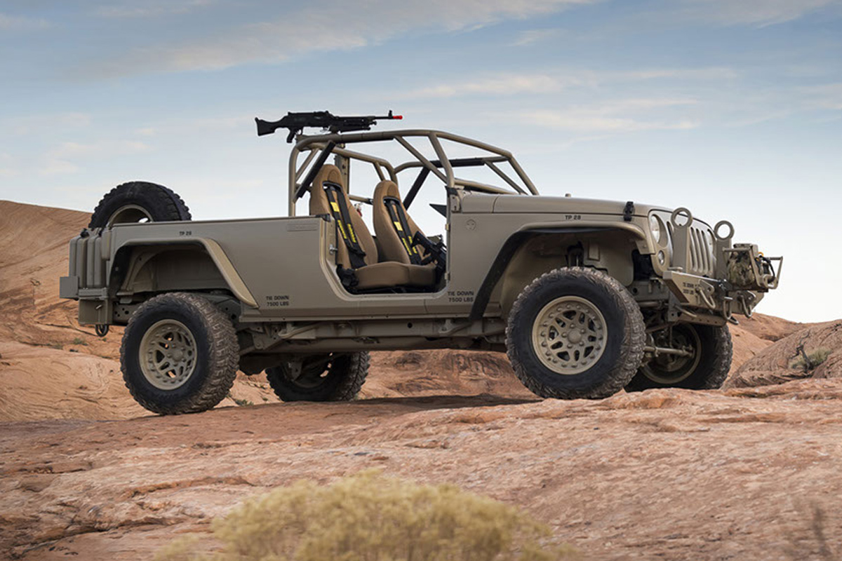 Dsi Jeep Commando Wrangler Concept Debuted At Moab Up For