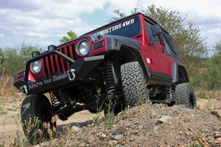 Project Redneck Continues: Our Red TJ Gets Help From The Aftermarket