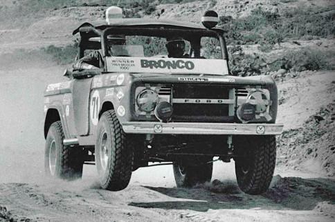 Rod Hall's '69 Baja Winning Ford Bronco Restored for '15 NORRA 1000
