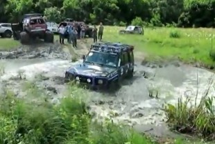 Video: Toyotas Mudding In A Land Far, Far Away
