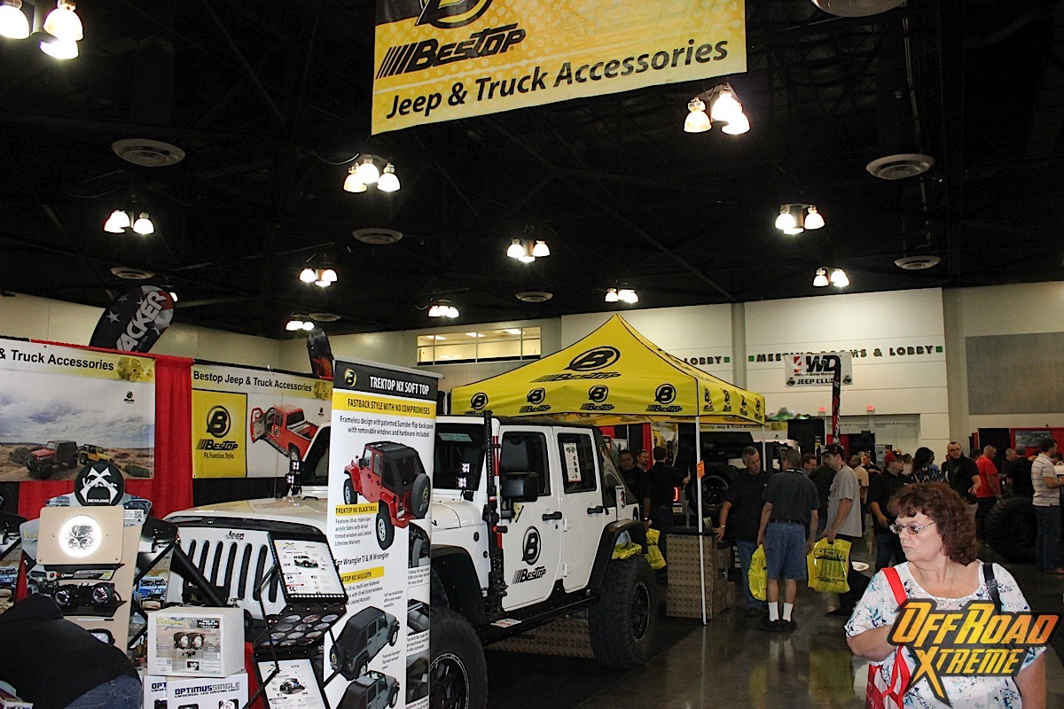 Deals Rigs And Customers Rock The 4 Wheel Parts Truck Jeep Fest Off Road Xtreme