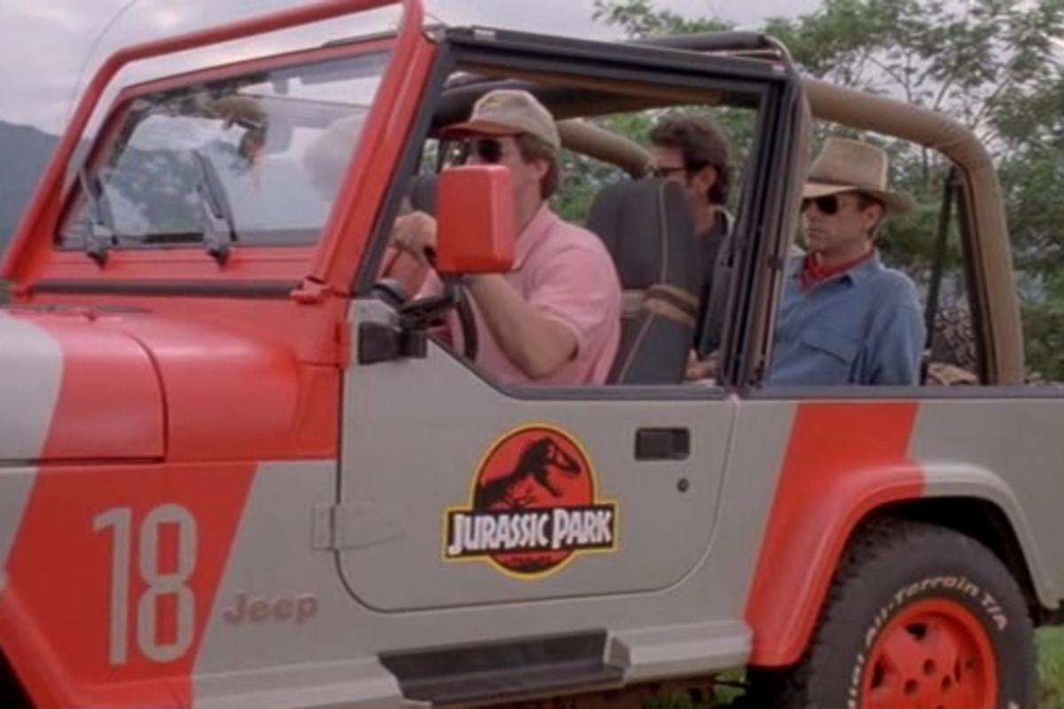 Jurassic Park Jeep For Sale >> eBay Find: Jurassic Park Themed Jeep Wrangler YJ