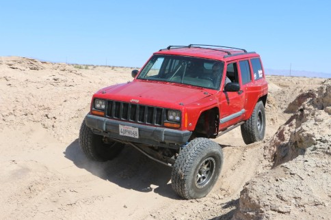 Real Long Travel In A Jeep With The TTBXJ