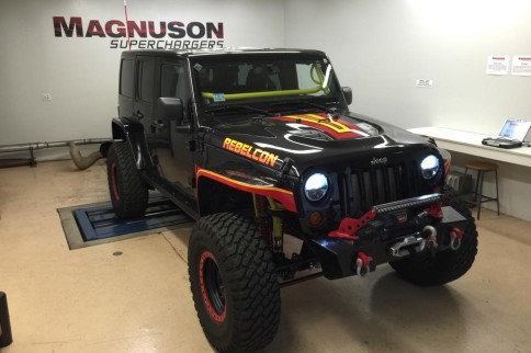 Magnuson Superchargers Tests Out REBELCON JK On Dyno