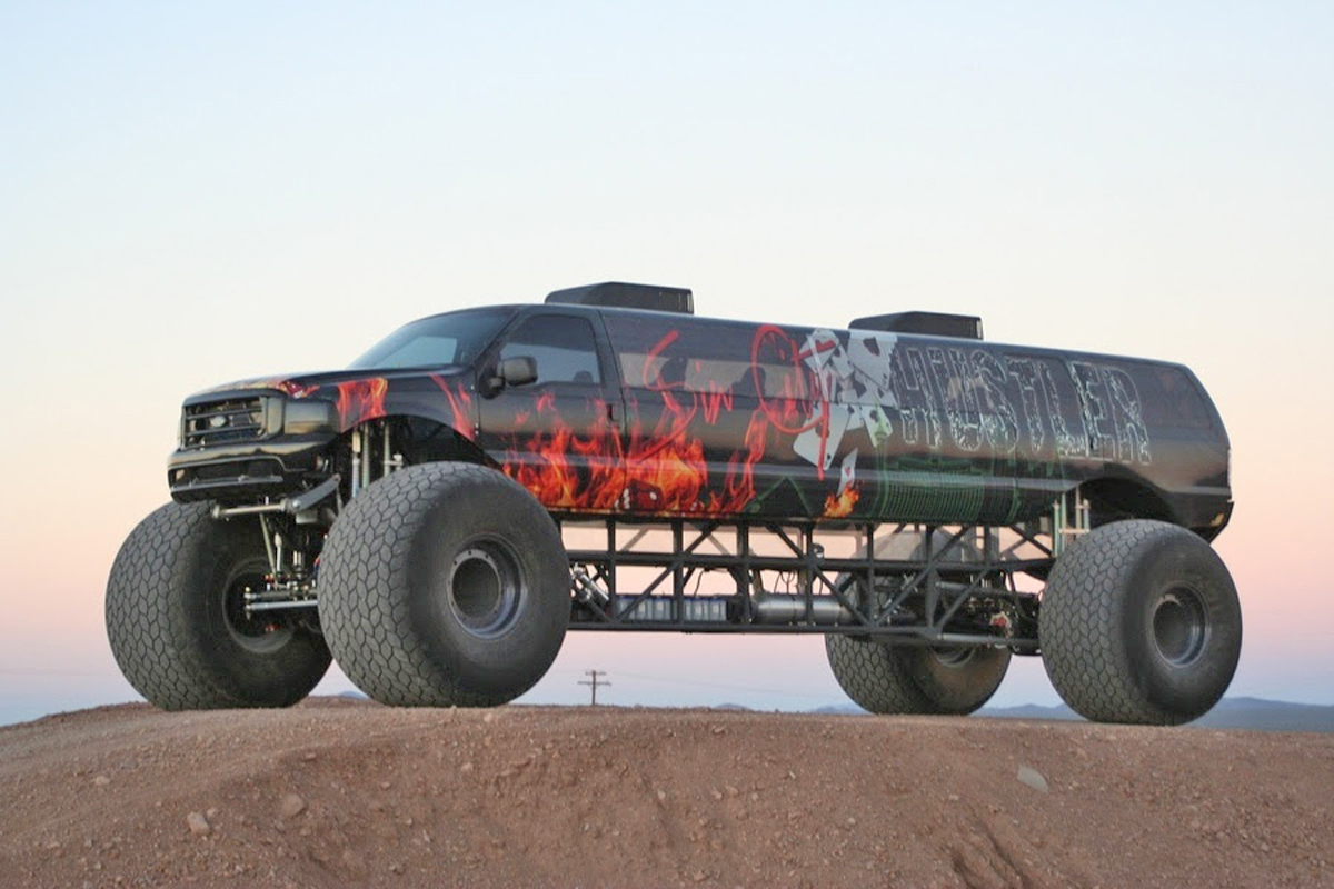 New Ford Bronco Pictures >> Video: Million-Dollar Monster Truck For Sale