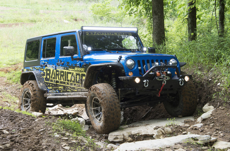 Video: ExtremeTerrain's Project Trail Force Wrangler JK Unveiled