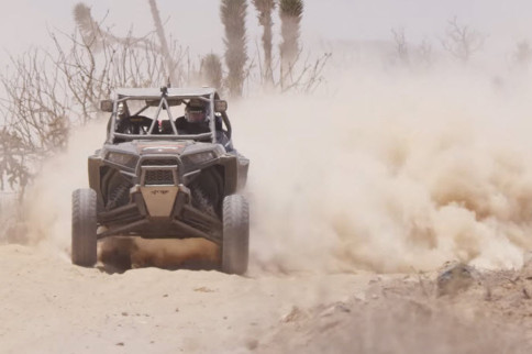 Video: Father-Son Racing Teams Bomb Around Baja In Polaris RZRs