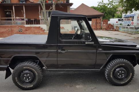 eBay Find: Custom Diesel Mercedes G