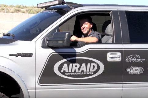 Video: Boosting The EcoBoost F-150 With AIRAID