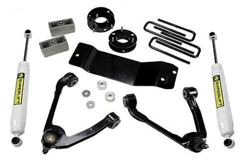 """Superlift Introduces New 3.5"""" Kit For 2014-15 GM Half-Tons"""