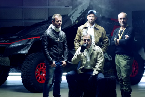 Video: Peugeot's Dakar Promo Video Is More French Than Eating Snails