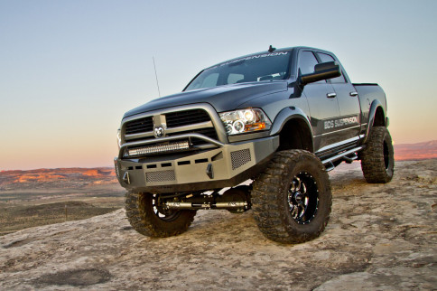 BDS Suspension Debuts 8-Inch Four-Link Kits For 2013-15 RAM 3500s
