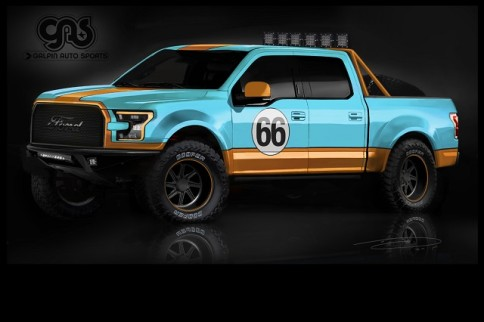 Seven Custom Ford F-150s To Descend On SEMA 2015
