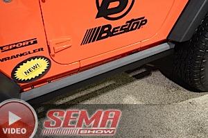 SEMA 2015: Bestop Talks New Sunrider, Seat Covers, F-150 Powerboard
