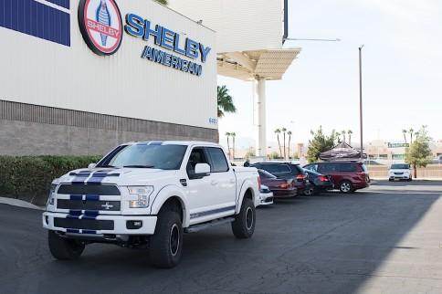 SEMA 2015: Shelby's All-New 700 Horsepower Ford F-150