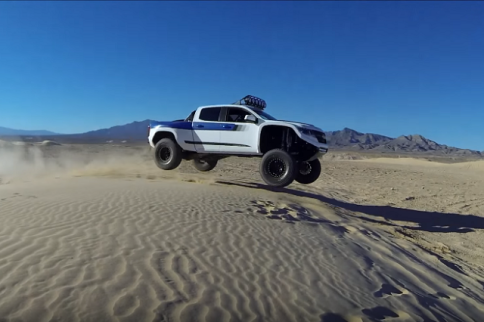 Video: Roadster Shop's ColoRADo Prerunner Shakedown At Nellis Dunes