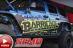 SEMA 2015: Extreme Terrain's Project Trail Force Jeep Rubicon