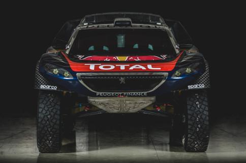 Peugeot Reveals Livery For Its Dakar Racer
