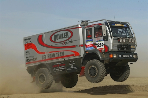 Video: Dakar Is In Full Force, But What Are Those Mammoth Machines?