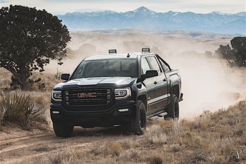 GMC Steps Into Special Edition Trucks With The Sierra All Terrain X