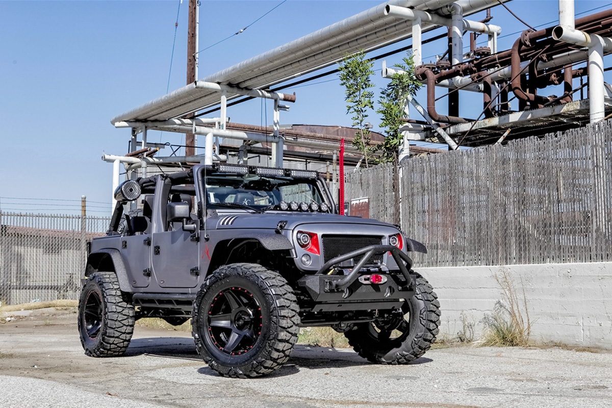 Highly Modified Omix Ada Sema Cares Jeep Sells At Auction