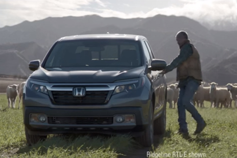 Video: Innovative Super Bowl Commercial For Honda Ridgeline