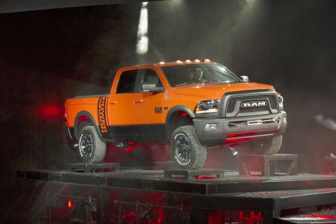 Macho, Ram's Off-Road 2017 Power Wagon Pickup