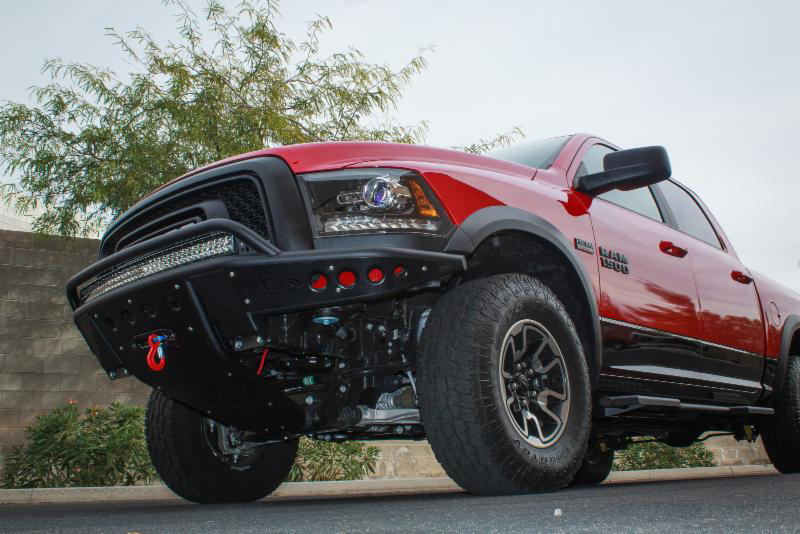 Add Debuts Stealth Bumpers And Side Steps For Ram Rebels