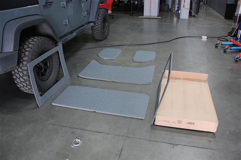 Sounds Of Silence: Quieting The Interior Of A JK With Boom Mat