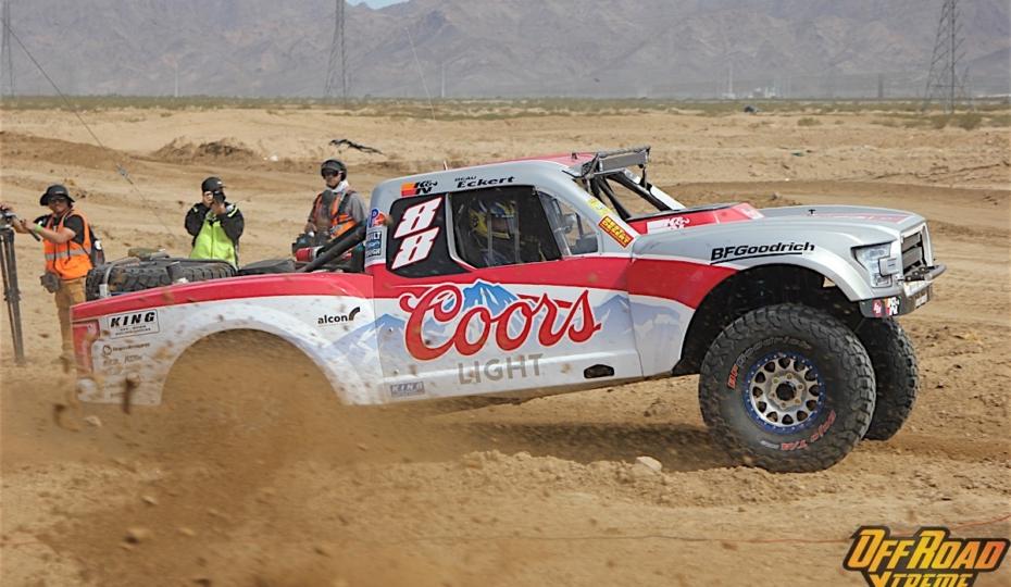 Young Gun: Trophy Truck Driver Brett Sourapas