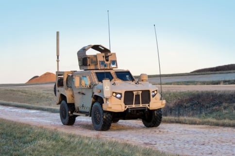 Video: Humvee Replacement Will Be Powered By Banks