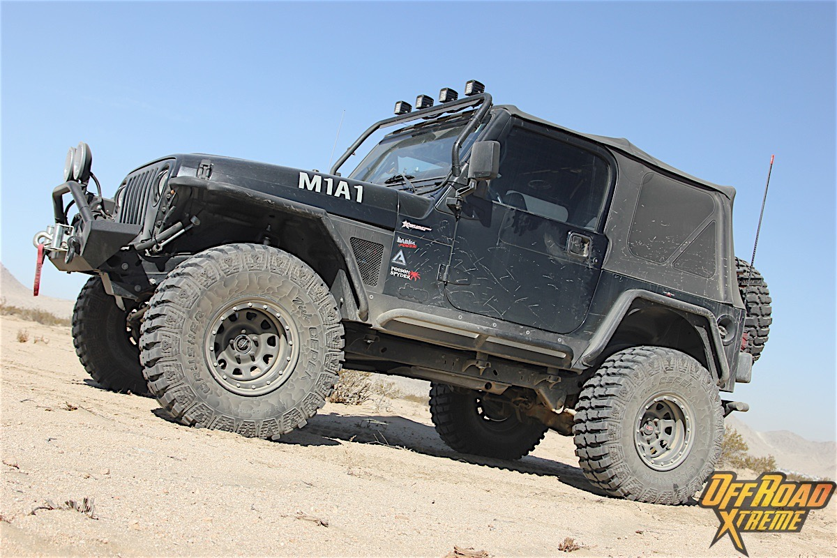 M1A1 Wrangler Pays Homage To Original Jeep